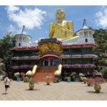 【スリランカ旅行一人旅 】壮大な石窟!世界遺産ダンブッラ黄金寺院:旅行4日目