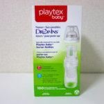 【使い捨て哺乳瓶ダントツおすすめ!】Playtex取り替えパックの簡単使用法!旅行・災害時に!